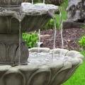 Sunnydaze Classic Tulip 3 Tier Fountain, 46 Inch Tall - Thumbnail 14