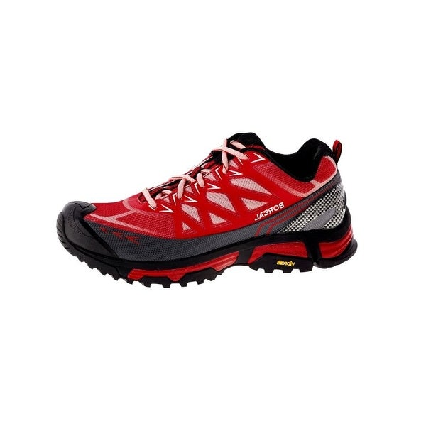 Boreal Climbing Shoes Womens Lightweight Alligator Red Gray