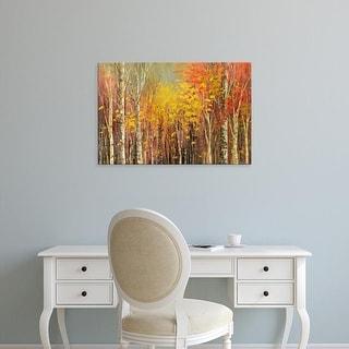 Easy Art Prints Tatiana Iliina's 'Tangled Colors' Premium Canvas Art
