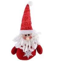 Household Merry Christmas Party Decoration Gift Santa Claus Toy Hanging Doll Red