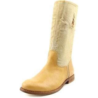 Matisse Coachella Women Round Toe Leather Tan Mid Calf Boot