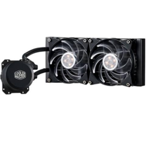CoolerMaster Fan MasterLiquid ML240L RGB FAN PUMP RADIATOR FOR INTEL AMD Retail