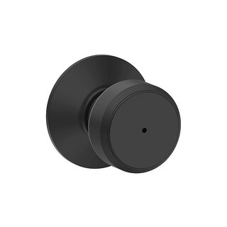 Schlage F40-BWE Bowery Privacy Door Knob Set from the F-Series