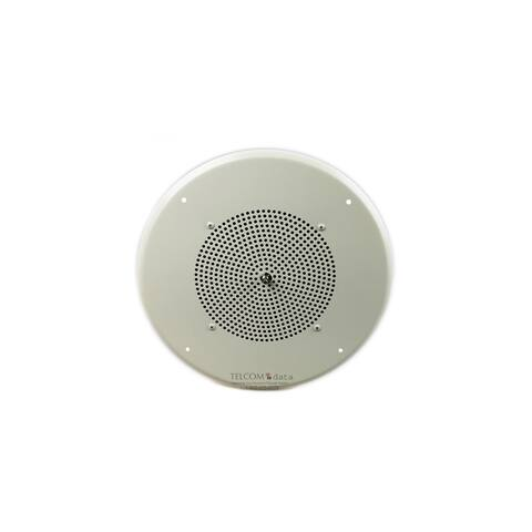 Bogen S810T725PG8WVK Ceiling Speaker Assembly with S810 8 Cone & Volume Control - Multicolor