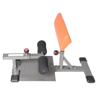 Conquer Deep Sissy Squat Ab Core Workout Home Gym Machine - Black