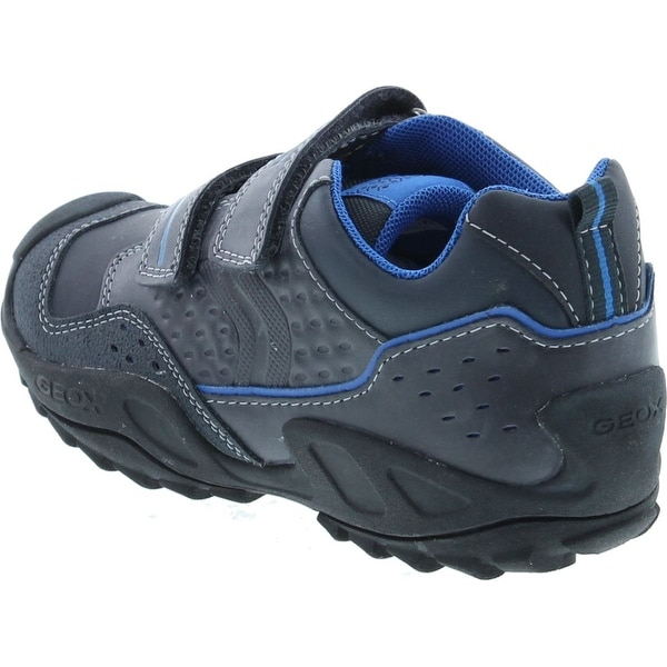 Shop Geox Boys New Junior Savage Fashion Shoes NavyRoyal