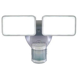 Heathco HZ-5868-WH Motion Activated Security Light, 180 deg Sensing, White