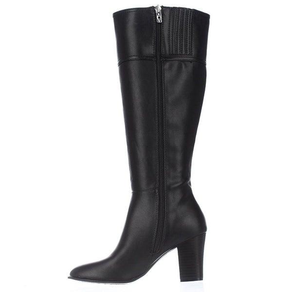 Alfani Womens COURTNEE WIDE CALF Closed Toe Knee High Fashion Boots