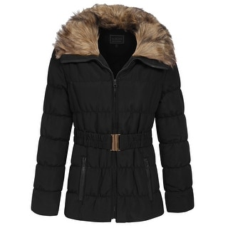 NE PEOPLE Womens Winter Quilted Light Weight Jacket Coat [NEWJ1133]