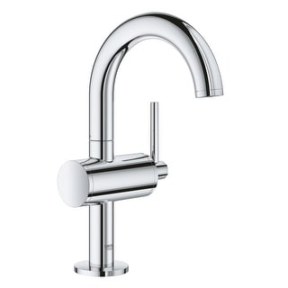 Grohe 23 831 3  Atrio 1.2 GPM Single Hole M-Size Bathroom Faucet with Pop-Up Drain Assembly