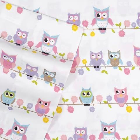 Owls Kids Sheet Set