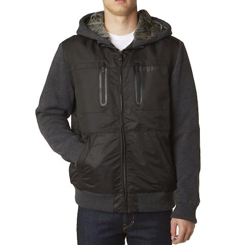 Fox 2015/16 Men's Marauder Sasquatch Full Zip Fleece - 14927 - Black
