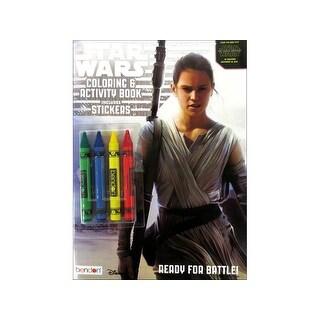 Bendon Coloring & Activity Bk Crayons Star Wars