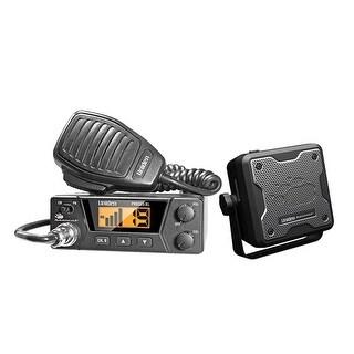Uniden PRO505XL CB radio with external speaker