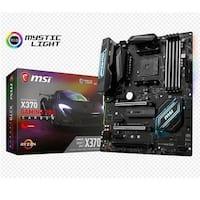 Msi X370 Gaming Pro Carbon Amd Ryzen X370 Ddr4 Vr Ready Hdmi Usb 3 Atx Gaming Motherboard