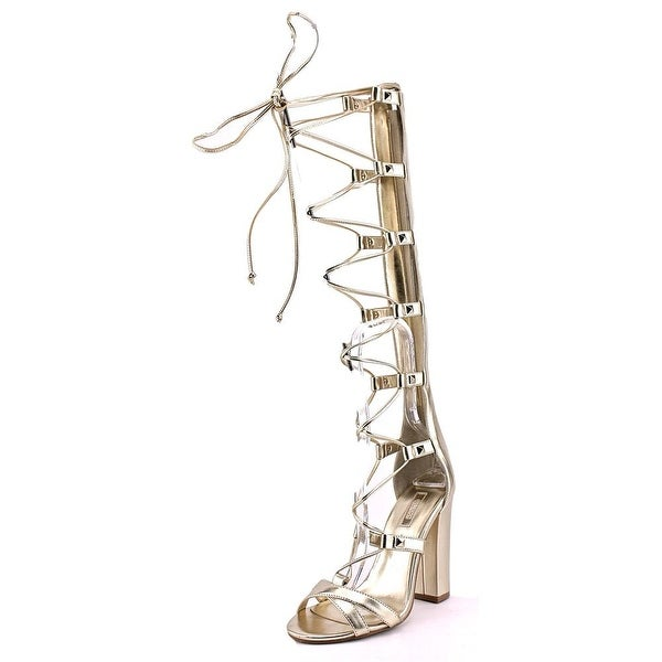 Guess Annalie Women Open Toe Synthetic Gladiator Sandal
