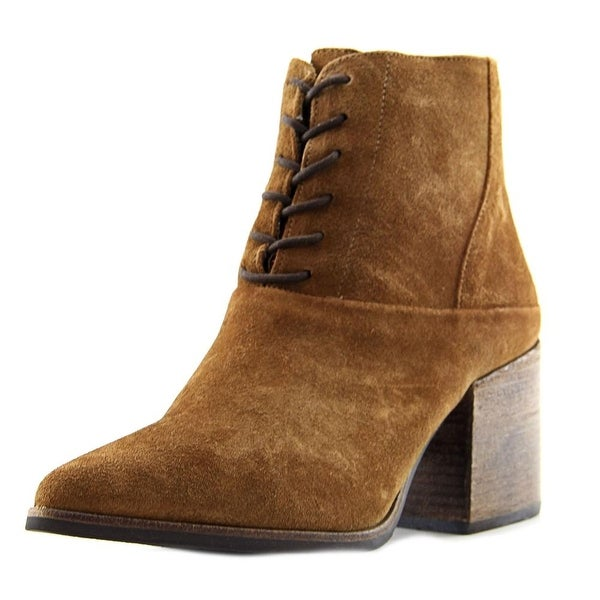 Matisse Vixen Women Round Toe Leather Tan Ankle Boot
