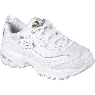 Shop Skechers Women S D Lites Bright Blossoms Sneaker