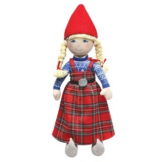"""Anja Little Girl Plush Doll from """"The Christmas Wish"""" Holiday Book"""