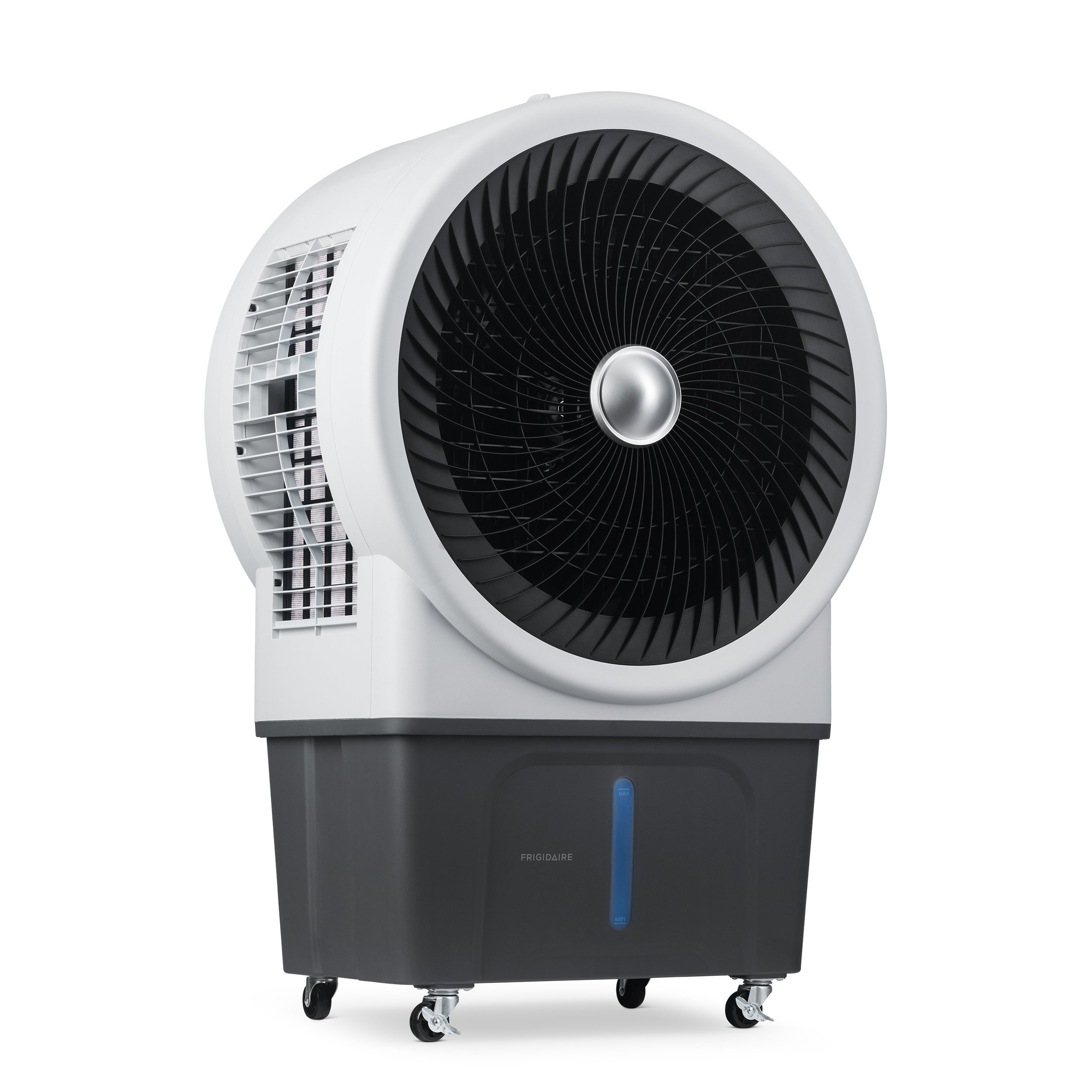 Frigidaire Indoor and Outdoor Evaporative Air Cooler, 3500 CFM with Energy Efficient Eco-Friendly Cooling, 21 Gallon Water Tank