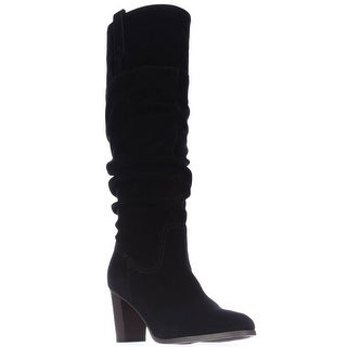 Tommy Hilfiger Trinety Knee High Slouch Boots, Black