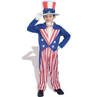 Forum Novelties Patriotic Uncle Sam Child Costume - Red/White/Blue