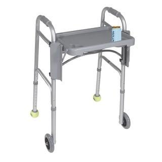 Walker Folding Flip Tray