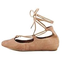 Donald J Pliner Womens Paix Closed Toe Ankle Wrap Ballet Flats - 7.5