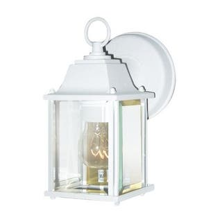 Woodbridge Lighting 60000-WHP 1 Light Wall Sconce from the Basic Outdoor Collection|https://ak1.ostkcdn.com/images/products/is/images/direct/a11c01d4cf4a36d3569732ec56c76453e88b965b/Woodbridge-Lighting-60000-WHP-1-Light-Wall-Sconce-from-the-Basic-Outdoor-Collect.jpg?impolicy=medium