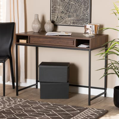 Cargan Modern and Contemporary 1-Drawer Desk