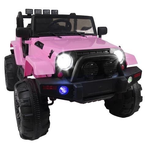 12V Kids Ride-on SUV with MP3/RC/LED 4 Colors