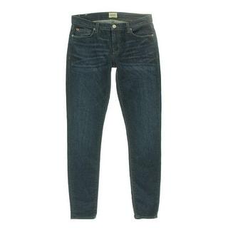 Hudson Womens Krista Skinny Jeans Mid-Rise Dark Wash - 29