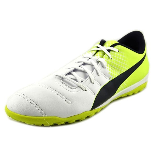 Puma Evo Power 4.3 TT Men Round Toe Synthetic White Cross Training