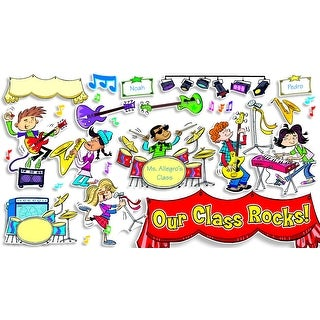 Scholastic School Rocks! Bulletin Board Set