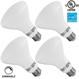1 PACK/4 PACK #65W Equivalent# 11W Dimmable BR30 LED Flood Light Bulb, ENERGY STAR, 850lLm, 2700K Soft White/5000K Daylight