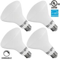 1 PACK/4 PACK #65W Equivalent# 11W Dimmable BR30 LED Flood Light Bulb, ENERGY STAR, 850lLm, 2700K Soft White/5000K Daylight
