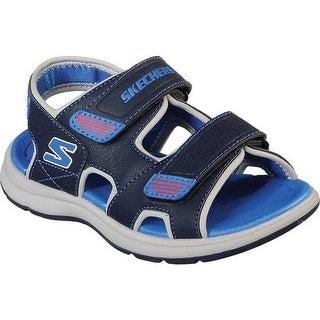 Skechers Boys' Sun Spurt Sport Sandal Navy/Blue
