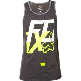 Fox Racing Men's Head Over Heels Tech Tank - Heather Black