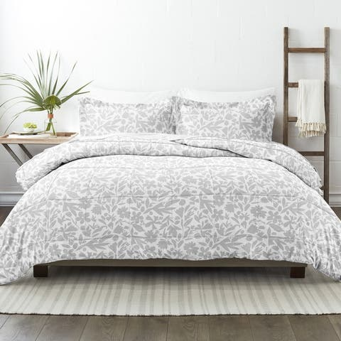 Becky Cameron Premium Abstract Garden Patterned Comforter Set