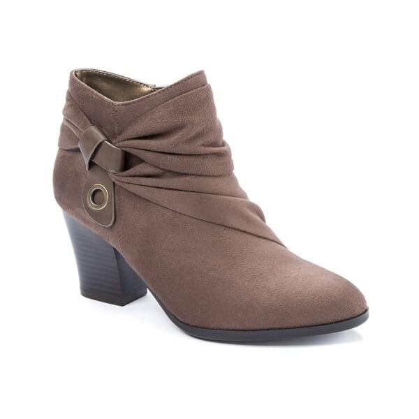 Andrew Geller Ginne Women's Boots DK Mushroom - 10