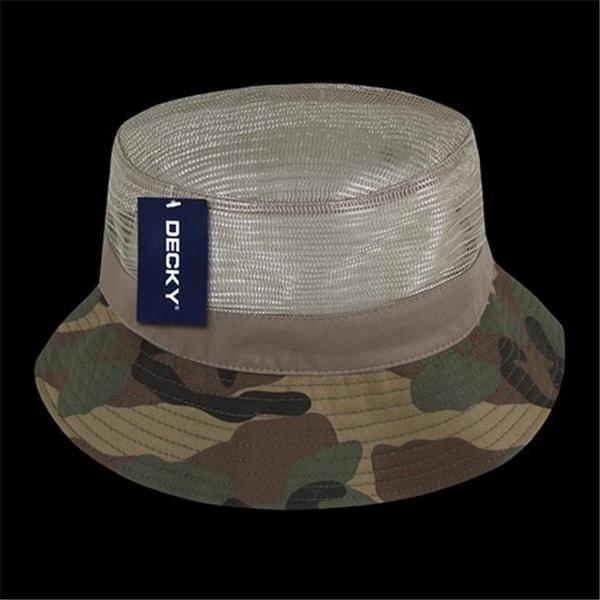 Shop Decky 458-PL-WDL-06 Mesh Bucket Hats ba604394828