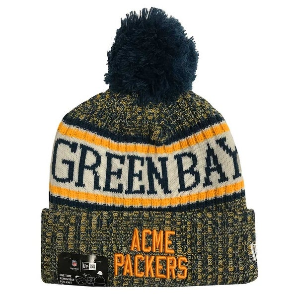 0a3c791c454410 Shop New Era 2018 NFL Green Bay Packer Sport Stocking Knit Hat Winter  Beanie (Blue) - Free Shipping On Orders Over $45 - Overstock - 23042835