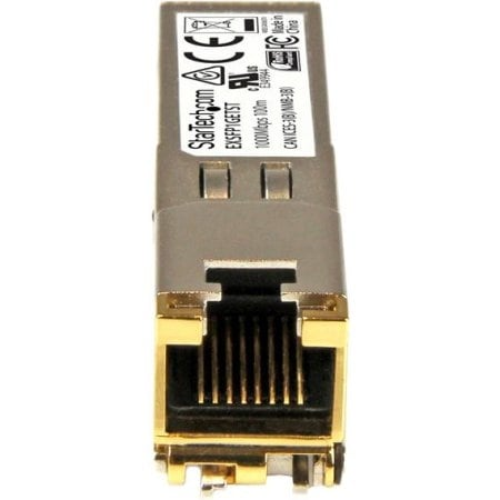Startech Exsfp1getst Gigabit Rj-45 Copper Sfp Transceiver Module, Juniper