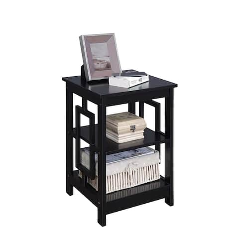 Porch & Den Woodmere Contemporary Square End Table