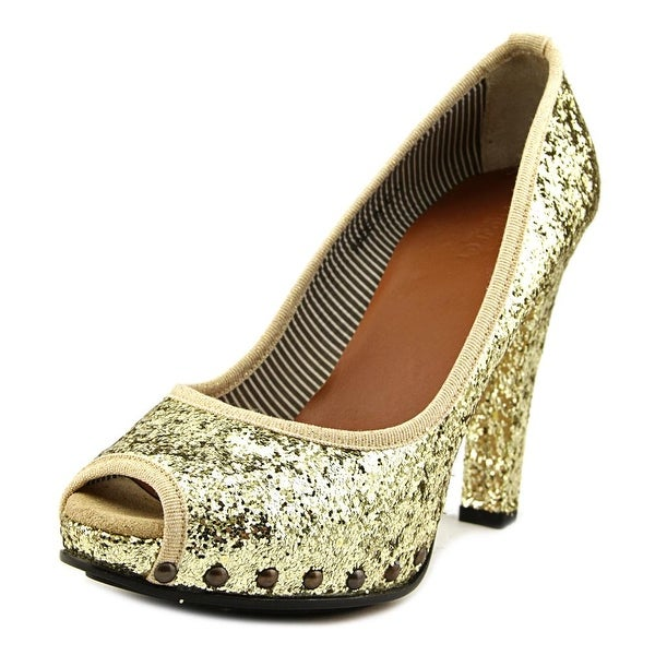 Project Rucoline Margot Women Galactica Oro Pumps