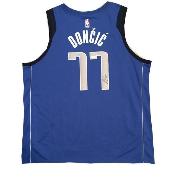 Shop Luka Doncic Autographed Dallas Mavericks Signed Nike