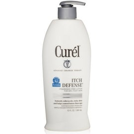 Curel Itch Defense Lotion For Dry, Itchy Skin 13 oz