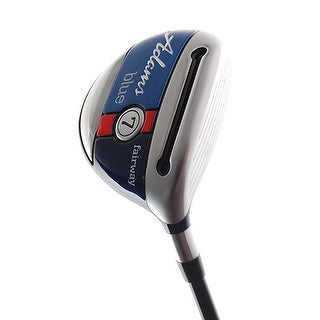 New Adams Blue 7-Wood Comp CZ R-Flex Graphite RH