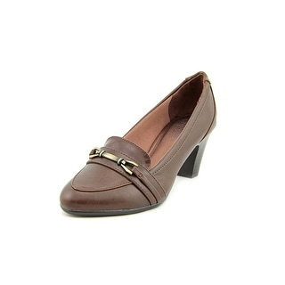 Life Stride Odele Women Round Toe Synthetic Brown Heels