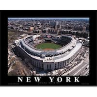 ''New Yankee Stadium: Opening Day, 2009 - Bronx, New York'' by Mike Smith Stadiums Art Print (22 x 28 in.)